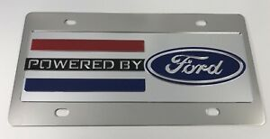 Ford Logo Emblem Vanity License Plate Powered By Ford
