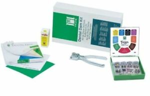 Coltene whaledent Hygenic Dental Dam Starter Kit Winged Clamps Kit