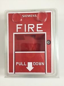 Siemens Hms s Addressable Single Action Pull Station P n 500 033200 New