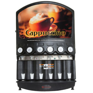 Grindmaster Pic6 6 Flavor Cappuccino Machine Shipping Available In Us