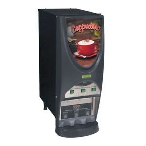 Bunn Imix 3s 3 Flavor Commercial Cappuccino Machine Shipping Available In Us