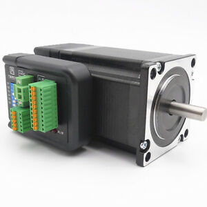 Closed Loop Stepper Motor Drive Hybrid Integrate Nema23 2nm 36v Position Encoder