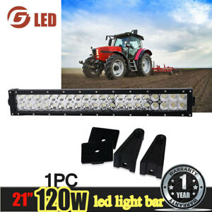 20 22 inch 120w Led Tractor Cab Light Spot Flood Combo Beam Ford New Holland