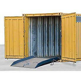 Forklift Container Ramp 60 X 60 15 000 Lb Cap Lot Of 1
