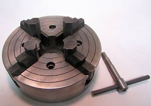 8 4 Jaw Craftsman Lathe Chuck 11121410 Used Independent