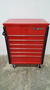 Snap on Compact Roll Cart Toolbox red Krsc326fpbo Local Pickup Only