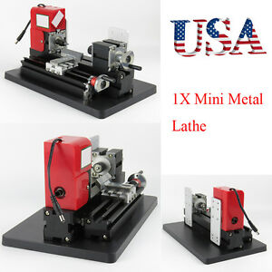 Usa Lab Clinic Mini Lathe Machine Saw Mini Combined Machine Tool Model Making