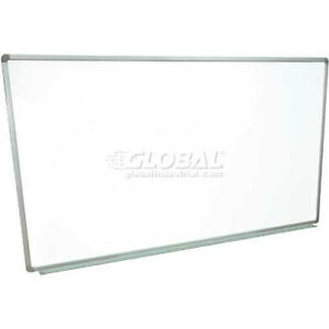 Steel Magnetic Dry Erase White Board 72 X 40 Lot Of 1