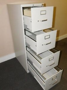 1000 Series Metal File Cabinet drawer