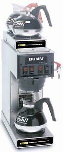 Bunn Stf 15 3 Burner Commercial Coffee Brewer Machine Shipping Available In Us