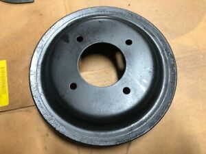 1971 72 Pontiac Gto Firebird V8 Crank Pulley 481038 W A C Power Steering