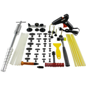 Pdr Paintless Repair Slide Hammer Hail Removal Dent Puller Glue Sticks Tool Kits