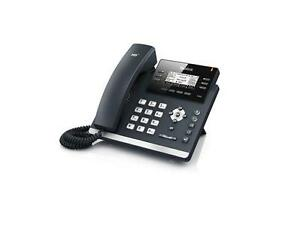 Fully Refurbished Yealink T42g Gigabit Ip Phone black