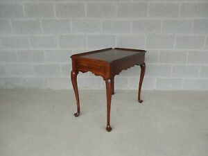 Statton Oldtowne Cherry Queen Anne Tea Table Shipping Is Available