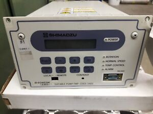 Shimadzu Tmp 2203 3403 Turbo Pump Controller E1 d3403m Universal For Both Pumps