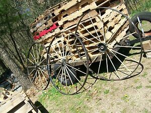 3 54 Cast Iron Wagon Wheels Last Chance At This And Then It Is Gone