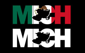Michoacan Letters Decal Car Window Laptop Map Vinyl Sticker Mexico Mich
