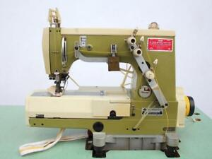 Rimoldi 171 Cylinder Coverstitch 2 needle 3 16 Gauge Industrial Sewing Machine
