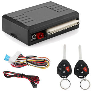 Universal Car Alarm Remote Control Central Kit Door Secure Keyless Entry System