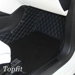 Tesla Model X Customized Car Floor Mat 2nd Row Seat Without Middle Console