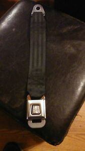 Shield Seat Belt And Buckle