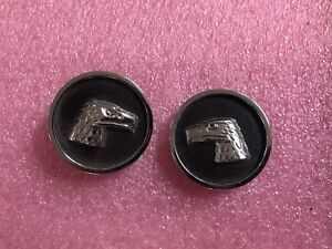 1980 88 Amc Eagle B Pillar Trim Medallions Rare