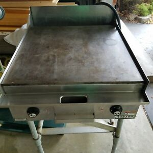 Hobart Electric Flat Grill griddle Commercial Restaurant Cafeteria Works Great
