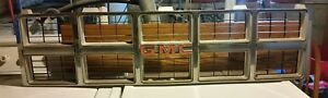 Rare Vintage 1981 1982 Gmc Truck Grill Suburban Jimmy Chrome 14021349 Gm