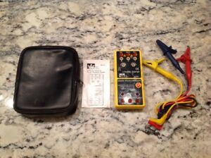 Ideal 61 521 3 phase Motor Rotation Tester Excellent Tested Free Ship