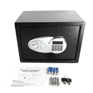 Home Safety Electronic Digit Combination Lock 0 5 Cubic Feet Safe Box Security