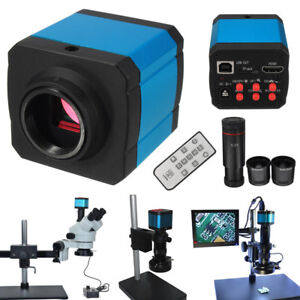 14mp 1080p Industry C mount Digital Hdmi Usb Video Microscope Camera Zoom Lens