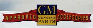Vintage Design Gm Approved Accessories Refelective Die Cut Decal High Quality 6