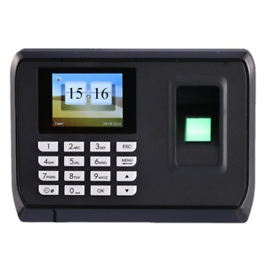 Yes original Biometric Fingerprint Time Attendance 2 4 Tft Color Screen 600 Fi