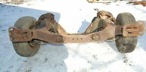 1972 72 Ford Gran Torino Sport Fast Back Front End Clip Competition Suspension