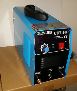 Plasma Cutter 50amp Cut50d Inverter Dual Voltage 35 Consumables 2018 Model New