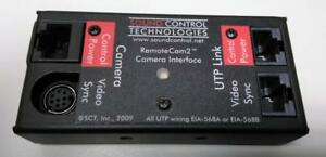 Sound Control Technologies Remotecam2 Camera Interface Rc2 ce Tested Working