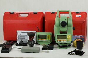 Leica Tcra1105plus Ps 5 Robotic Total Station Rcs1100 Remote Reconditioned