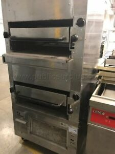 Southbend 270 34 Double Deck Upright Infrared Broiler Gas Free Standing 270d 4