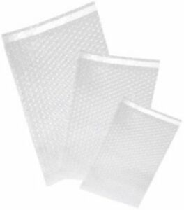 200 Uneekmailers 8x11 5 Bubble Out Self Sealing Pouches Wrap Bags Clear 8 x11