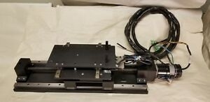 Motorized X Y Linear Stages W Cmc me2105 054h Servo Motor