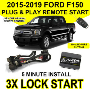 2015 2018 Ford F 150 Remote Start Plug And Play Easy Install Truck F150 3x Lock