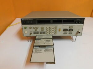 Hp 8970b Noise Figure Meter