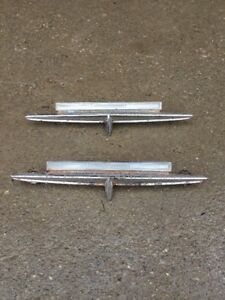 1963 Ford Fairlane 2 Door H T Sport Coupe Emblems