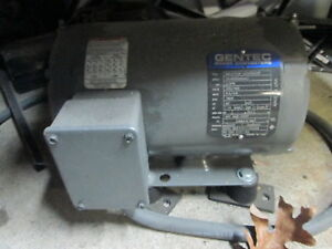 American Rotary Adx03 s 208 230v Rotary Phase Converter W gentec Ind Generator