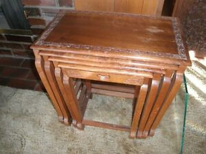 India Stacking Tables Nesting Tables