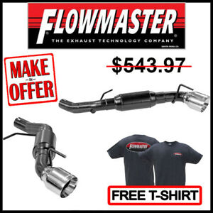 Flowmaster 2016 2018 Camaro Lt 2 0l American Thunder Axle back Exhaust System