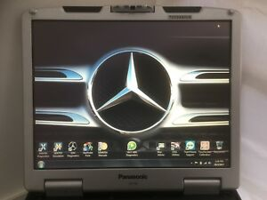 Mercedes Star Xentry Diagnostic Programming Toughbook Cf30 5 year Warranty
