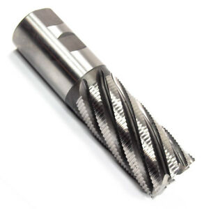 Hertel 2 Fine Pitch Cobalt Roughing End Mill 8 Fl Square End 2 Shank 4 Cut L
