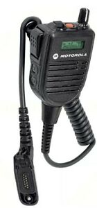 Motorola Hmn 4104 Apx6000 Apx7000 B Impres Remote Speaker Mic W Display New