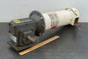 Magnetek D210 1 Hp Electric Motor 180 Volt Vdc Winsmith Reducer 10 1 Ratio